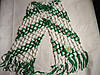 Футбольный шарф футбольного болельщика Карпаты плетёный