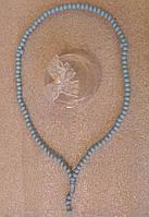 Четки 99 бусин ароматизированные голубые