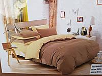 Двухспальное однотонное постельное белье