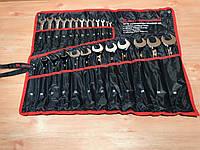 Набор ключей комбинированных, 6-32 мм, 25 шт, CrV, полированный хром MTX 154259