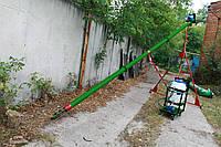 Шнековый транспортер диаметр 130 мм, длина 6 м, 2,2 кВт