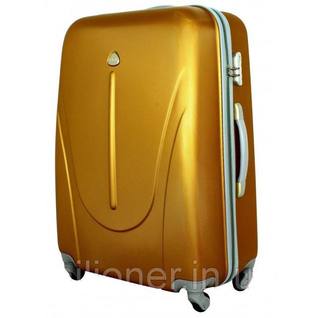 Чемодан сумка 882 XXL (небольшой) темно золотой