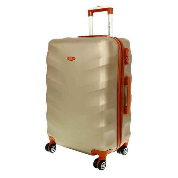 Чемодан дорожный сумка Exclusive (небольшой) шампан