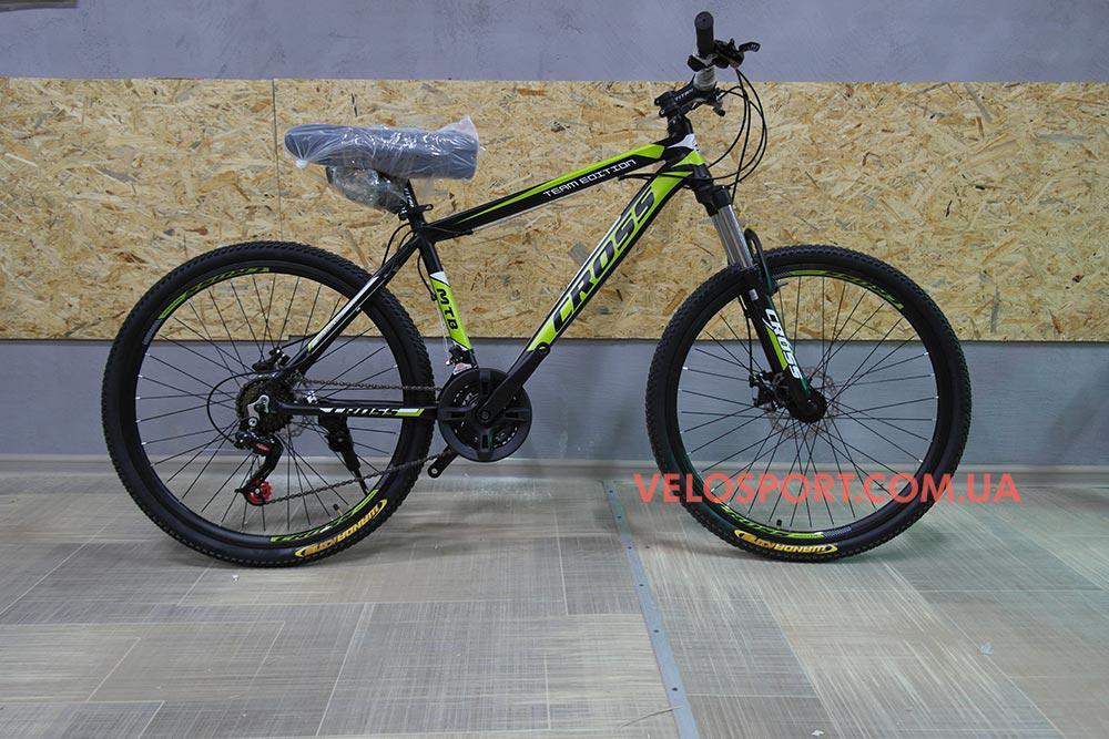Горный велосипед Cross Hunter 26 дюймов - Интернет магазин velosport.com.ua продажа велосипедов и аксессуаров в Одессе
