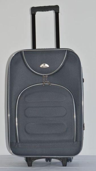 Чемодан дорожный сумка Bonro Lux (небольшой) темно-серый
