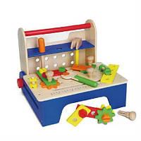 """Набор инструментов Viga Toys """"Ящик с инструментами"""" 59869 , детский чемодан с инструментами"""