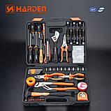 Универсальный набор инструмента 62 пр. Harden Tools 510262, фото 2