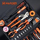 Универсальный набор инструмента 62 пр. Harden Tools 510262, фото 3