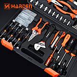 Универсальный набор инструмента 62 пр. Harden Tools 510262, фото 5