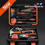 Универсальный набор инструмента для дома 18 пр. Harden Tools 511018, фото 2