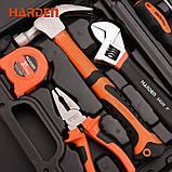 Универсальный набор инструмента для дома 18 пр. Harden Tools 511018, фото 6