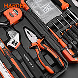 Универсальный домашний набор инструмента 22 пр. Harden Tools 510222, фото 3