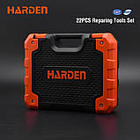 Универсальный домашний набор инструмента 22 пр. Harden Tools 510222, фото 6