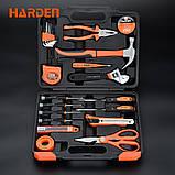 Набор инструментов универсальный для дома 23 пр. Harden Tools 511011, фото 2
