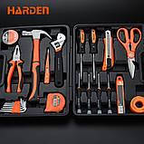 Набор инструментов универсальный для дома 23 пр. Harden Tools 511011, фото 3