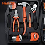 Набор инструментов универсальный для дома 23 пр. Harden Tools 511011, фото 4