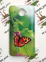 Чехол для HTC Desire 601 (бабочка)
