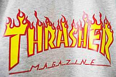 Свитшот Thrasher Grey (ориг.бирка), фото 3