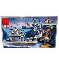 Конструктор  819 Брик Военный корабль