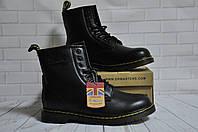 Ботинки с мехом Dr.Martens 1460 (BLACK) Размер 41 42 43 44 45, фото 1