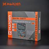 """Универсальный набор инструмента 77 предметов 1/2"""" и 1/4"""" Harden Tools 510677, фото 7"""