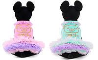"""Платье нарядное """"Мишка Барни"""" для собаки, кошки. Одежда для собак."""
