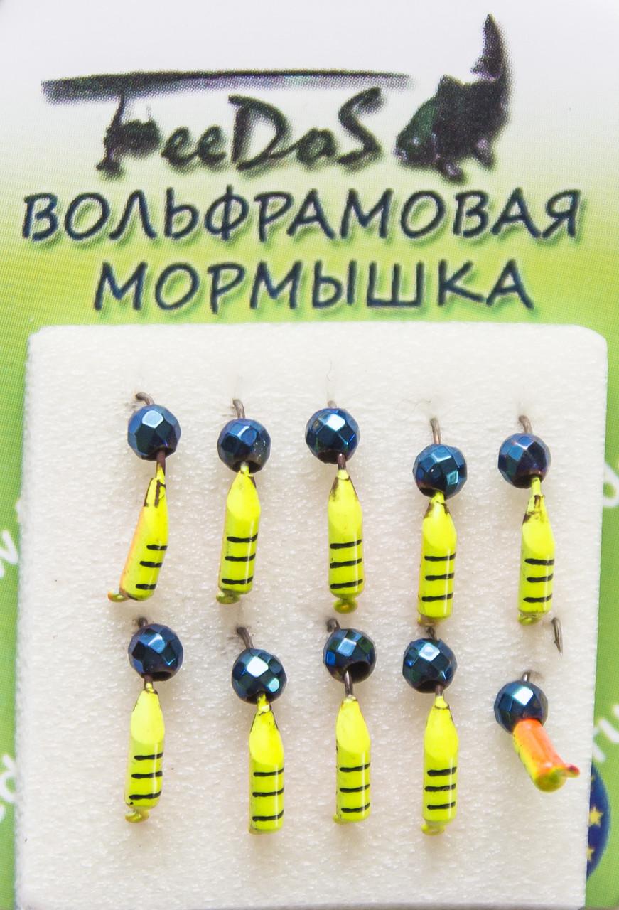 Мормышка вольфрамовая М1014 Гвоздешарик 2mm 0.4g