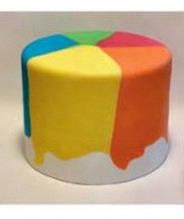 Аэрография на торте