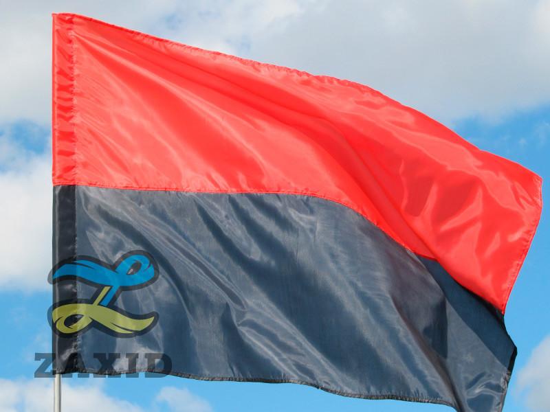 Прапор УПА з поліестеру