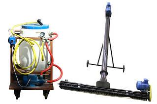 Протравливатель производительностью 2 т/час в трубе 108 мм длиной с подборщиком