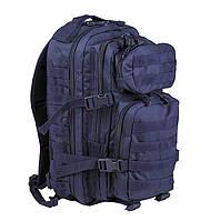 Городской тактический повседневный рюкзак / Рюкзак штурмовий малий синій Mil-Tec