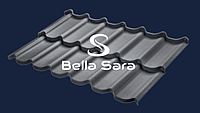 Модульная металлочерепица Bella Sara Prelaq X-Matt