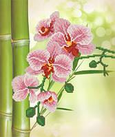 """Схема для вышивки бисером А3 """"Тропические цветы"""""""