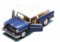 Металлическая модель kinsmart Chevy Nomad Синий