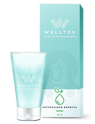 Welltox (Веллтокс) - отбеливающий крем для лица. Цена производителя. Фирменный магазин.