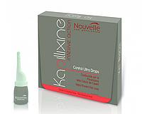 Nouvelle Ultra Drops Средство против выпадения волос с экстрактом красного женьшеня в ампулах 10 ампул по 7мл.