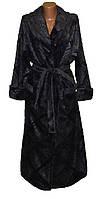 Халат женский махровый длинный без капюшона 03532, р.р. 44-58