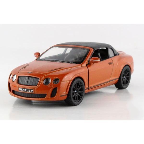 Металлическая модель kinsmart BentleyContinentalSupersportsConvertible
