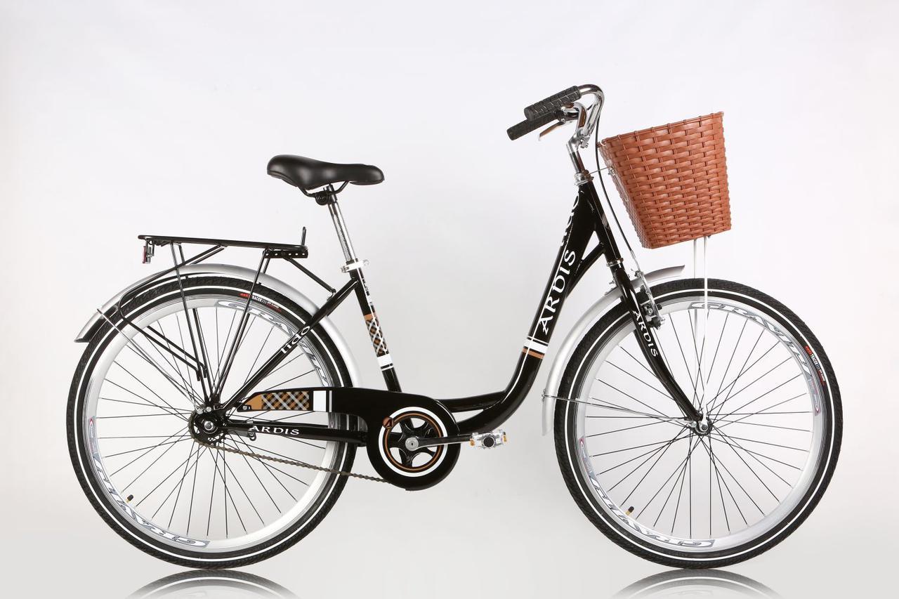 """Городской велосипед ARDIS LIDO  26"""" 16""""  Черный"""