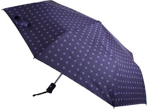 Стильный и качественный зонт, полный автомат RAINY DAYS (РЕЙНИ ДЕЙС) Антиветер  U76868-navy-krug