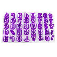 Набор оттисков Алфавит и цифры, фото 1