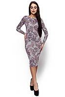 Женское платья-футляр (в расцветках)