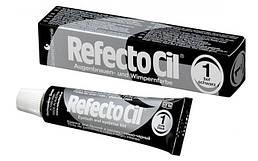 RefectoCil №1 Черная - краска для бровей и ресниц, 15 мл