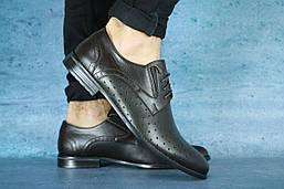 Мужские классические туфли Bonis (коричневые), ТОП-реплика