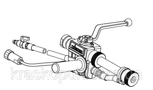 Пневматичний шпаклювальних розпилювальний пістолет Wagner