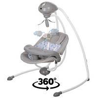 Качеля (электрокачеля, укачивающий центр) вращается сидушка SG301-11