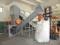 Дробилка (измельчитель) для переработки ПВД пленки