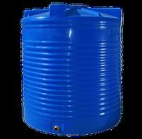 Емкость двухслойная, вертикальная 5000 литров - 183 х 202 см Ротоевропласт