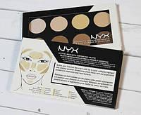 Палитра для контуринга лица - NYX Highlight & Contour Pro Palette