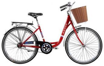 """Городской велосипед ARDIS LIDO 26"""" 16""""  Красный"""